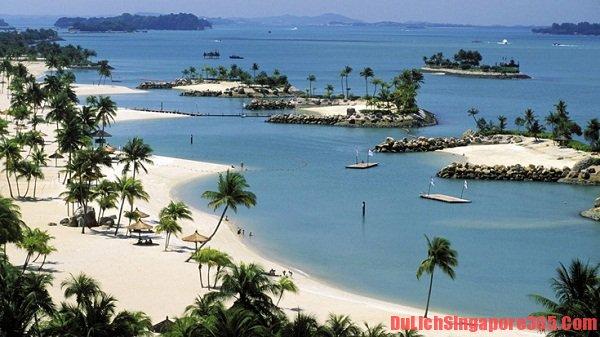 Hè này nhất định phải tới những bãi biển đẹp nhất tại Singapore này