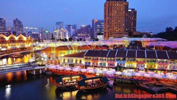 Điểm du lịch hoàn toàn miễn phí nhưng rất hấp dẫn tại Singapore