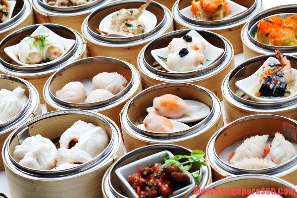 Bánh Dimsum thơm ngon bổ dưỡng nằm trong 5 món ăn sáng ngon hấp dẫn ở Singapore.