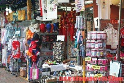 Chọn quà lưu niệm đẹp giá rẻ ở Singapore. Quần áo, mĩ phẩm, nước hoa chất lượng tốt, đẹp, giá cả vừa túi tiền