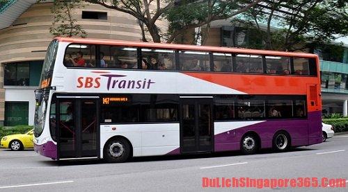 Phương tiện công cộng giá rẻ tại Singapore
