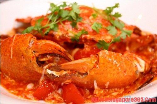 Cua sốt ớt món ăn bạn nên thử khi đi Singapore