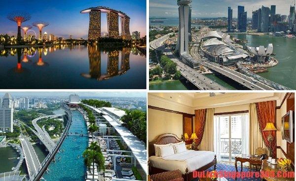 Danh sách khách sạn sang trọng nhất tại Singapore hiện đại, hoành tráng, sang trọng. Khách sạn mang lại cảm giác thoải mái nhờ tiện nghi cao cấp