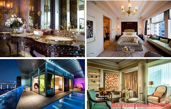 Danh sách khách sạn sang trọng nhất tại Singapore hiện đại, hoành tráng. Khách sạn Regis đẹp, lạ, chuẩn quốc tế.