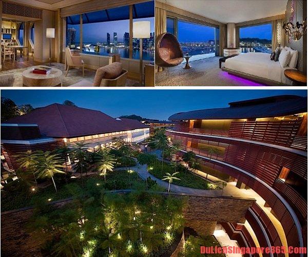 Danh sách khách sạn sang trọng nhất tại Singapore. Khách sạn Capella thiết kế độc đáo, dịch vụ hoàn hảo.