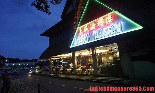 Long Beach Seafood Restaurant một trong những địa điểm ăn cua sốt ớt ngon nhất tại singapore