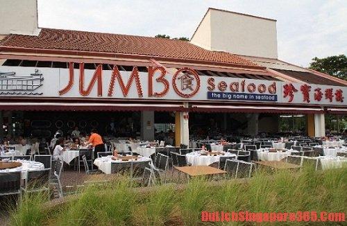 Jumbo Seafood Restaurant, địa chỉ ăn của sốt ớt ngon nhất tại singapore bạn không thể bỏ qua