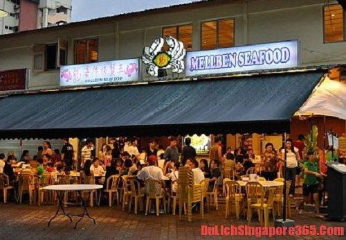 Khám phá những địa điểm ăn cua sốt ớt ngon nhất tại singapore