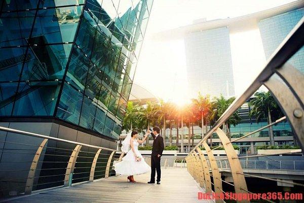 Địa điểm chụp ảnh cưới đẹp tại Singapore lí tưởng tráng lệ