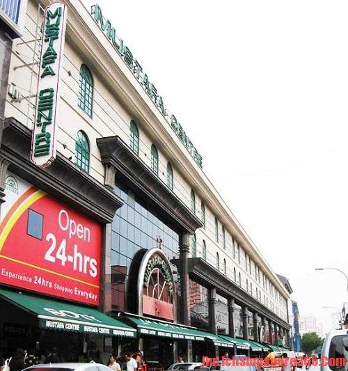Mustafa Centre địa điểm mua sắm quà lưu niệm tại singapore