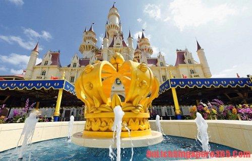 Universal Studios, địa điểm vui chơi trên đảo sentosa singapore thú vị, ấn tượng