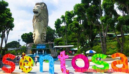 Cùng tham khảo một số địa điểm vui chơi trên đảo Sentosa Singapore