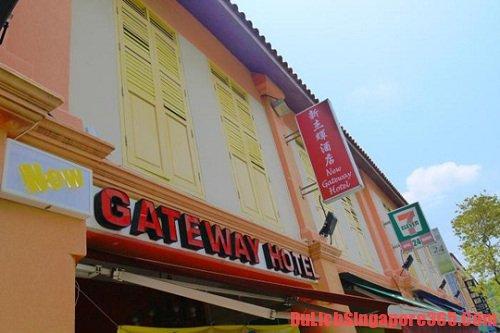 Khách sạn Gateway Singapore giá rẻ, tốt, thoải mái. Khách sạn nằm trong top khách sạn tốt giá cả hợp lí tại Singagpore