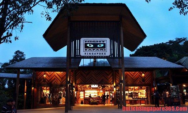 Kinh nghiệm du lịch vườn thú đêm Singapore, lí thú, hấp dẫn.