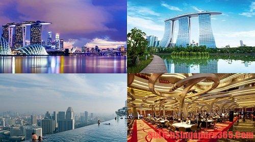 Khi du lịch Singapore thì điều bạn nên làm đó là tới thăm Marian Bay Sands