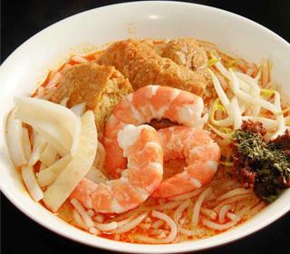 Mì gạo sa tế món ăn đặc trưng của Singapore
