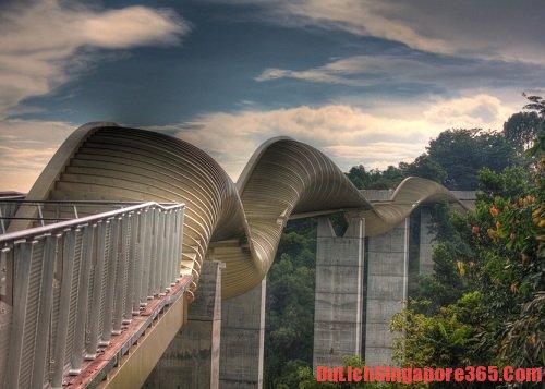 Một số cây cầu đẹp tại Singapore bạn không thể bỏ qua