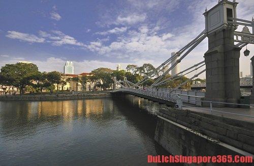 Điểm tên một số cây cầu đẹp tại singapore không thể bỏ lỡ