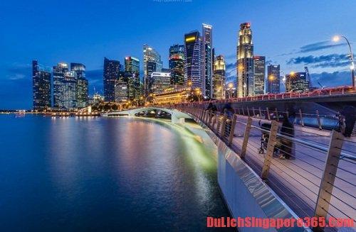 Các cây cầu đẹp nhất tại singapore bạn không thể bỏ qua