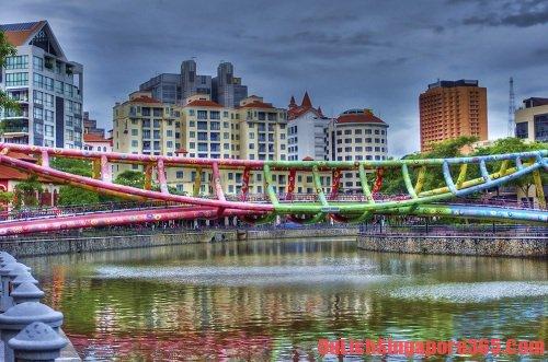 Những cây cầu tuyệt đẹp, ấn tượng tại singapore