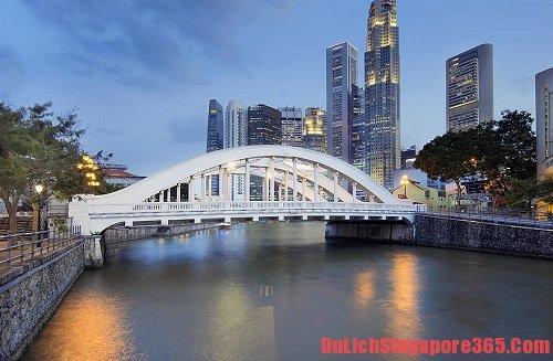 Một số cây cầu đẹp tại Singapore bạn nên ghé thăm