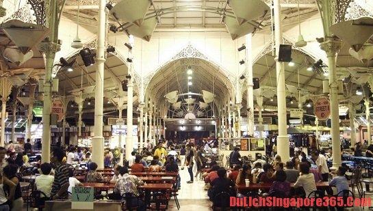 Khu chợ lâu đời nhất mang đạm văn hóa của người Singapore