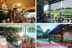 Những quán cà phê độc đáo và lạ tại Singapore đáng thưởng thức