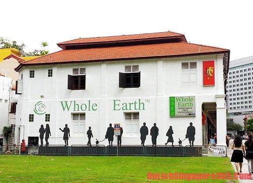 Whole Earth quán ăn chay ngon nổi tiếng tại Singapore