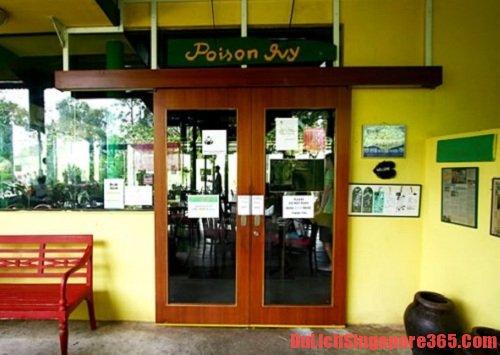 Poison Ivy Bistro, một trong những quán ăn chay nổi tiếng tại singapore