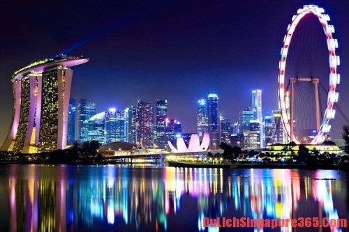 Ngồi trên vòng quay Singapore Flyer là điều bạn nên thử khi đến Singapore