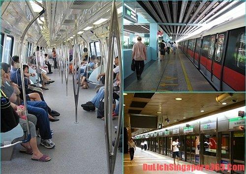 Phương tiện đi lại giá rẻ tại Singapore, thoải mái và thuận lợi