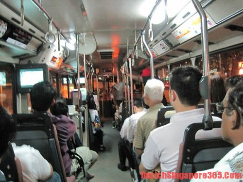 Hướng dẫn đi xe bus tại Singapore nhanh nhất, thuận tiện.