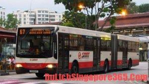 Xe bus phương tiện công cộng giá rẻ tại Singapore được nhiều người lựa chọn
