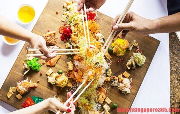 MÓn ăn mang đậm hương vị truyền thống Singapore, món ngon và hấp dẫn