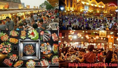 Lễ hội ẩm thực tháng 4 thời điểm lý tưởng để du lịch Singapore