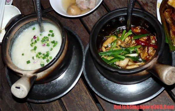 Nhà hàng ăn cháo ếch ngon nổi tiếng ở Singapore