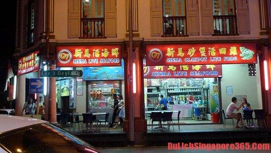 Ăn cháo ếch ở đâu ngon nhất ở Singapore?