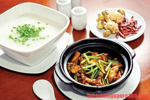 Địa chỉ ăn cháo ếch ngon nhất ở Singapore, giá rẻ