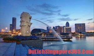Tư vấn: Du lịch singapore tự túc cần bao nhiêu tiền?