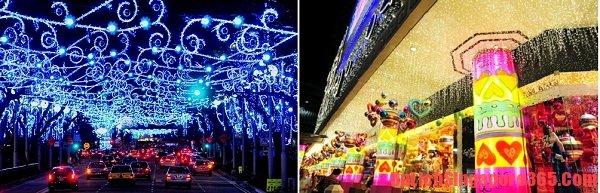 Thời điểm tuyệt vời nhất để du lịch Singapore là dịp giáng sinh