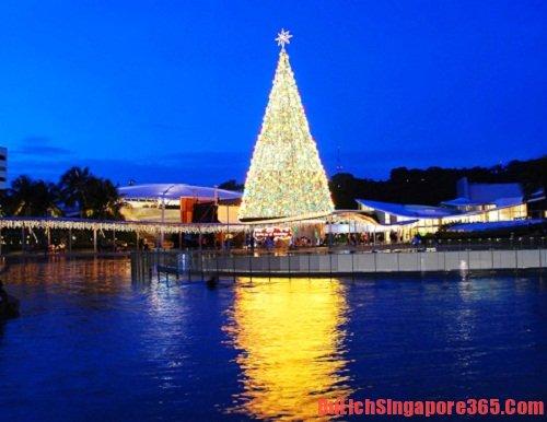 Mùa Noel. mùa du lịch tuyệt vời nhất tại Singapore