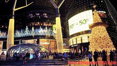 Du lịch vào mùa giảm giá lớn nhất tại Singapore-mùa giáng sinh