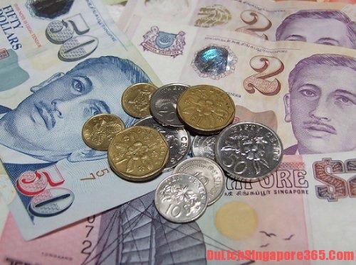 Du lịch Singapore nên đổi tiền ở đâu?
