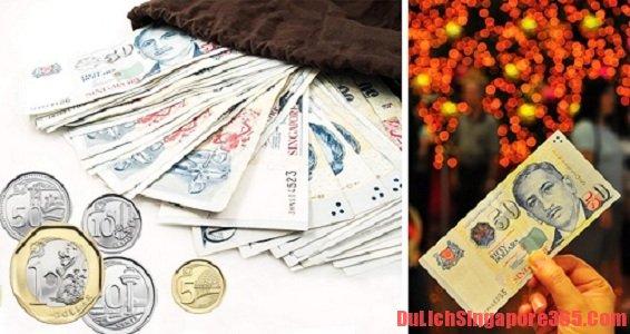 Lưu ý khi đổi tiền du lịch Singapore