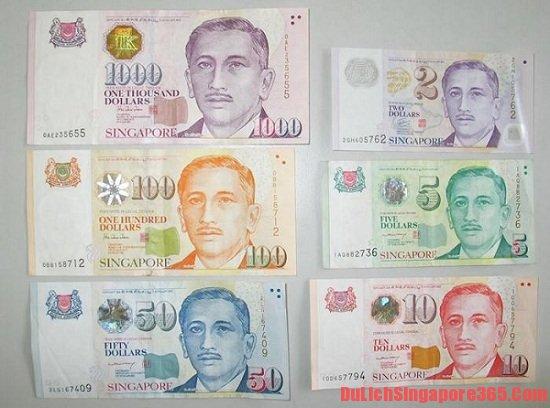 Địa điểm đổi tiền khi du lịch Singapore