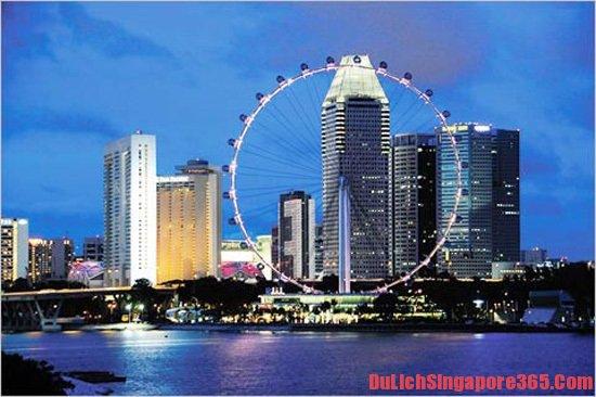 Giá vé tham quan các khu du lịch nổi tiếng tại Singapore