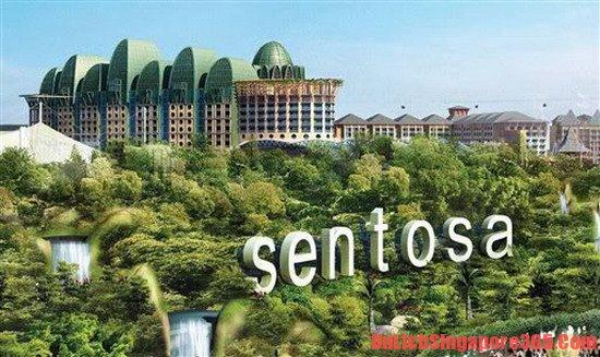 Giá vé tham quan các khu du lịch nổi tiếng ở singapore trên đảo Sentosa