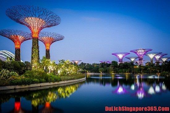 Vé và cửa Garden bay the bay điểm du lịch nổi tiếng Singapore