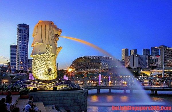Gợi ý, tư vấn lịch trình du lịch SIngapore 3 ngày 2 đêm