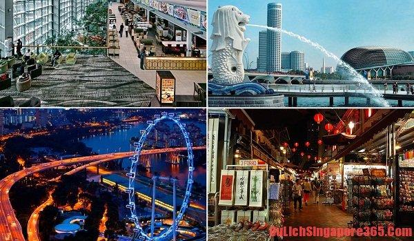 Những điểm du lịch cho chuyến tham quan Singapore 3 ngày 2 đêm